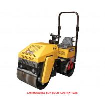 Rodillo Compactador Doble Temuco TRR-1000H
